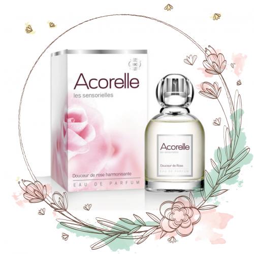 perfume bio rosa