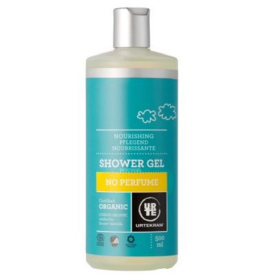 urtekram gel duche sem perfume - nutritivo - pele delicada e sensível