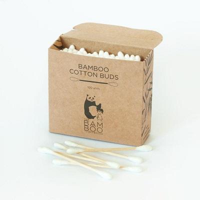 Cotonetes em bambu