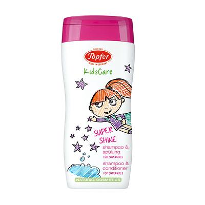 Shampoo e amacidor menina
