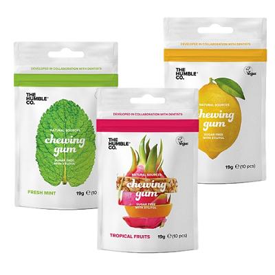 Pastilhas elásticas naturais - pack 3 sabores