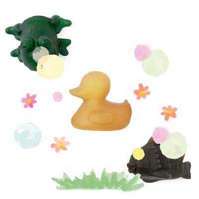 Conjunto de brinquedos para banho
