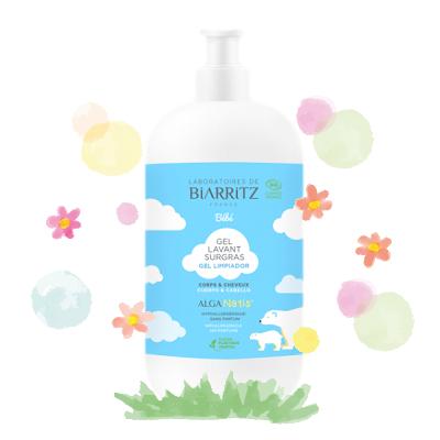 Gel de lavagem para bebé - Alga Natis