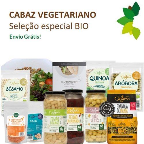 Cabaz vegetariano seleção especial BIO